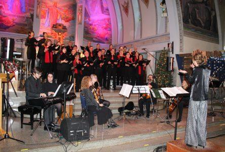 La chorale Sainte-Amélie chante Noël avec magnificence