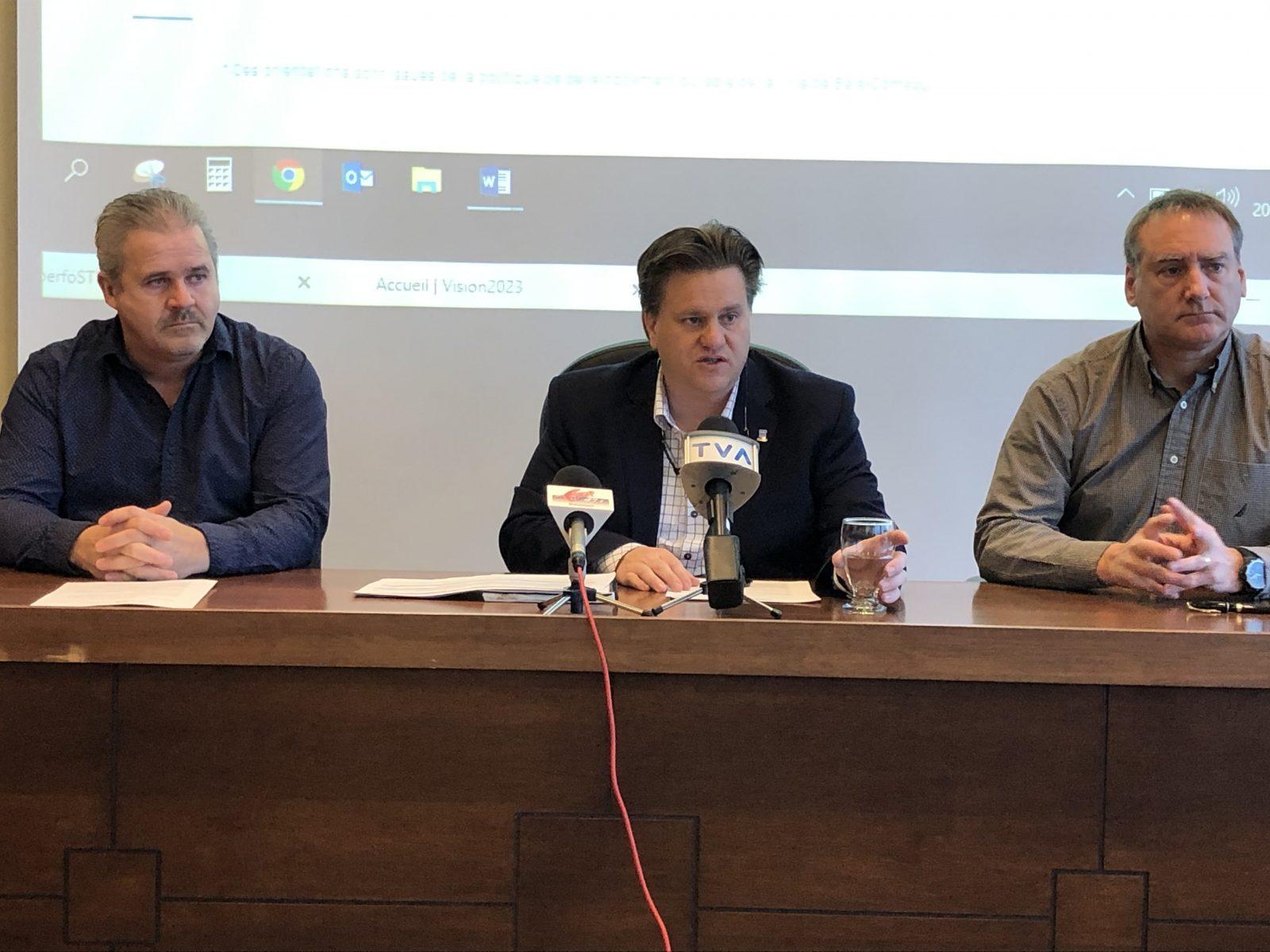 Baie-Comeau : Montigny satisfait de l'an 1 de la planification stratégique