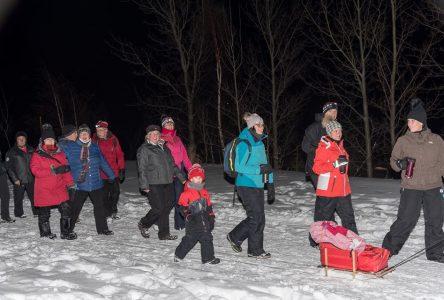 Parc Manicouagan : la marche nocturne de Noël, c'est samedi!