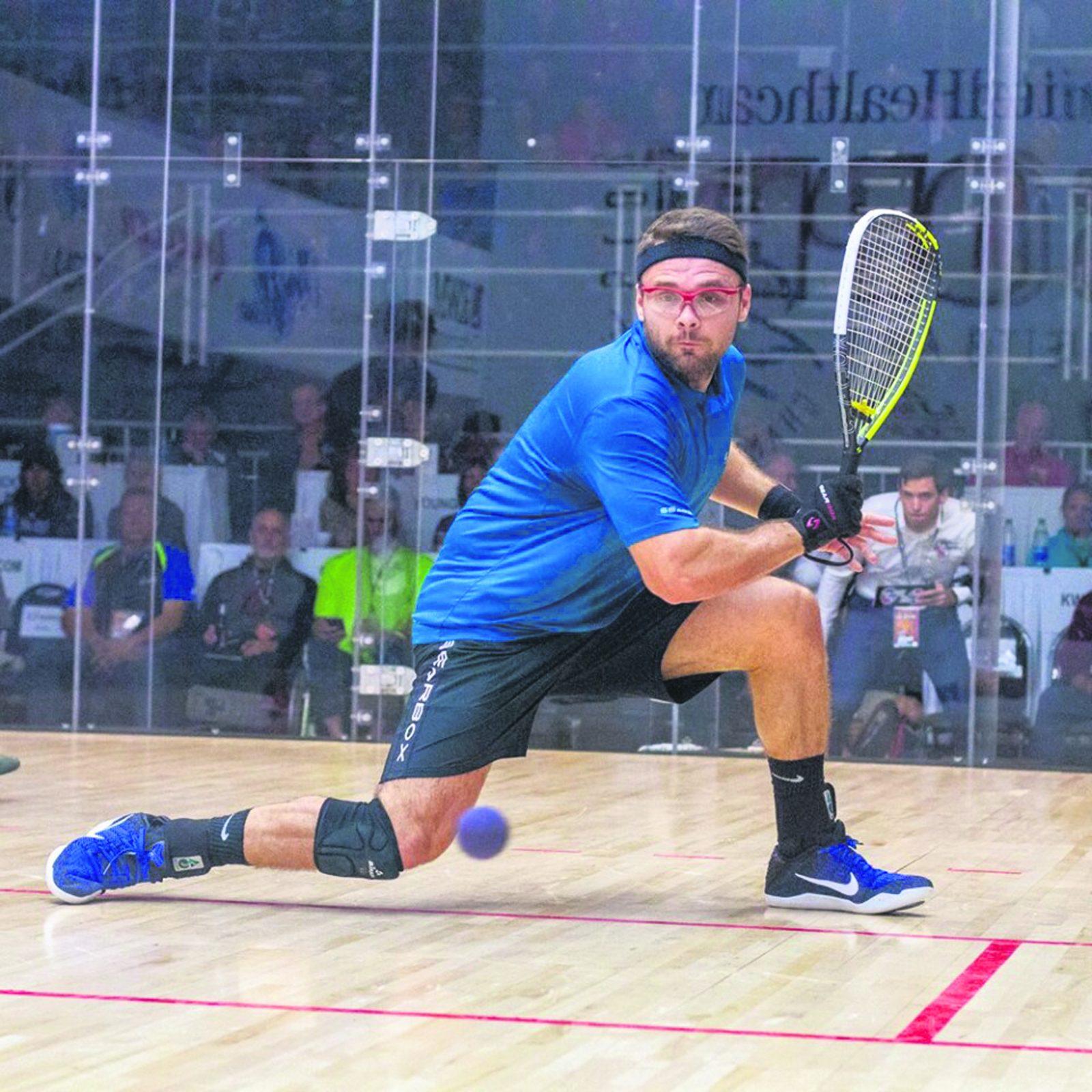 Racquetball : premier tournoi en un an pour Samuel Murray