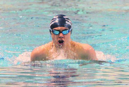Philippe Lévesque, le nageur de l'année sur la Côte-Nord