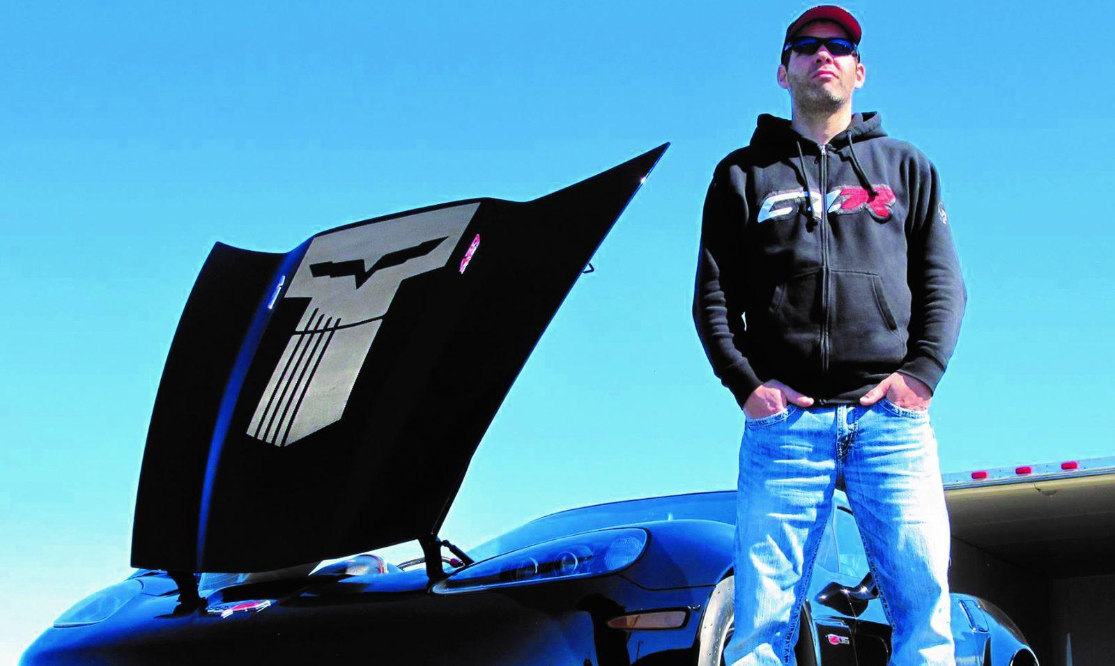 Sébastien Imbeault fait fureur au volant de sa Corvette Z06