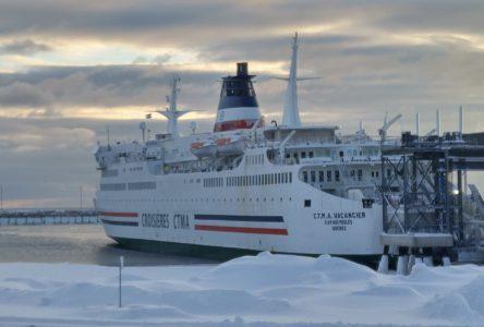 Le Saaremaa I sera de retour le 21 janvier