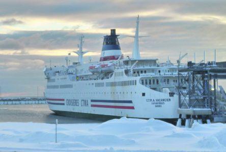 D'ici au retour du Saaremaa I, le CTMA Vacancier s'amène jusqu'au 20 janvier