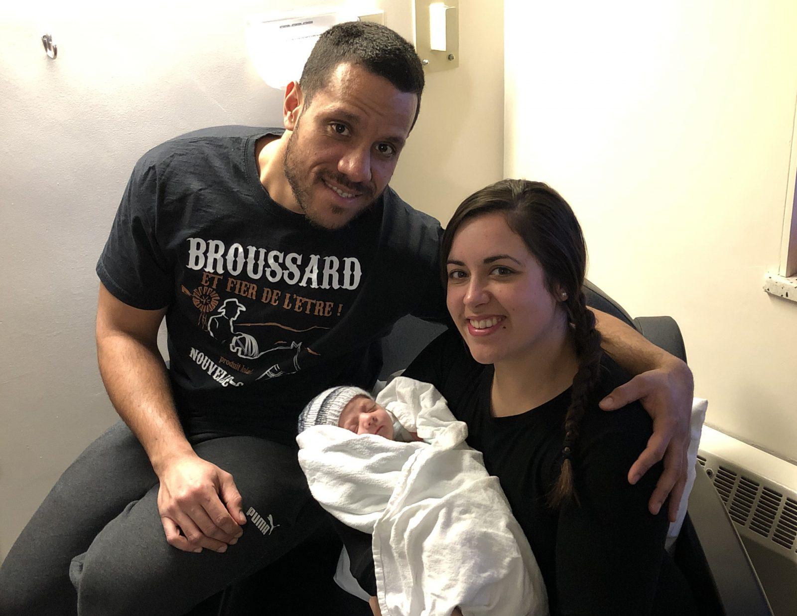 Le premier bébé de l'année à Sept-Îles s'est laissé désirer