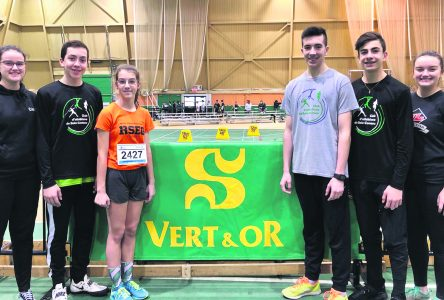 Athlétisme : nos athlètes gagnent sept médailles d'or à Sherbrooke