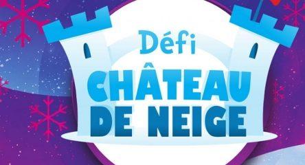La Côte-Nord participe au Défi château de neige 2020