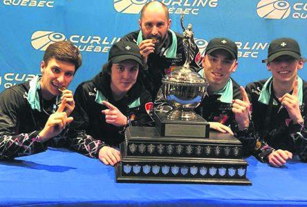 Curling U21 : un deuxième titre en deux ans pour Simon-Olivier Hébert