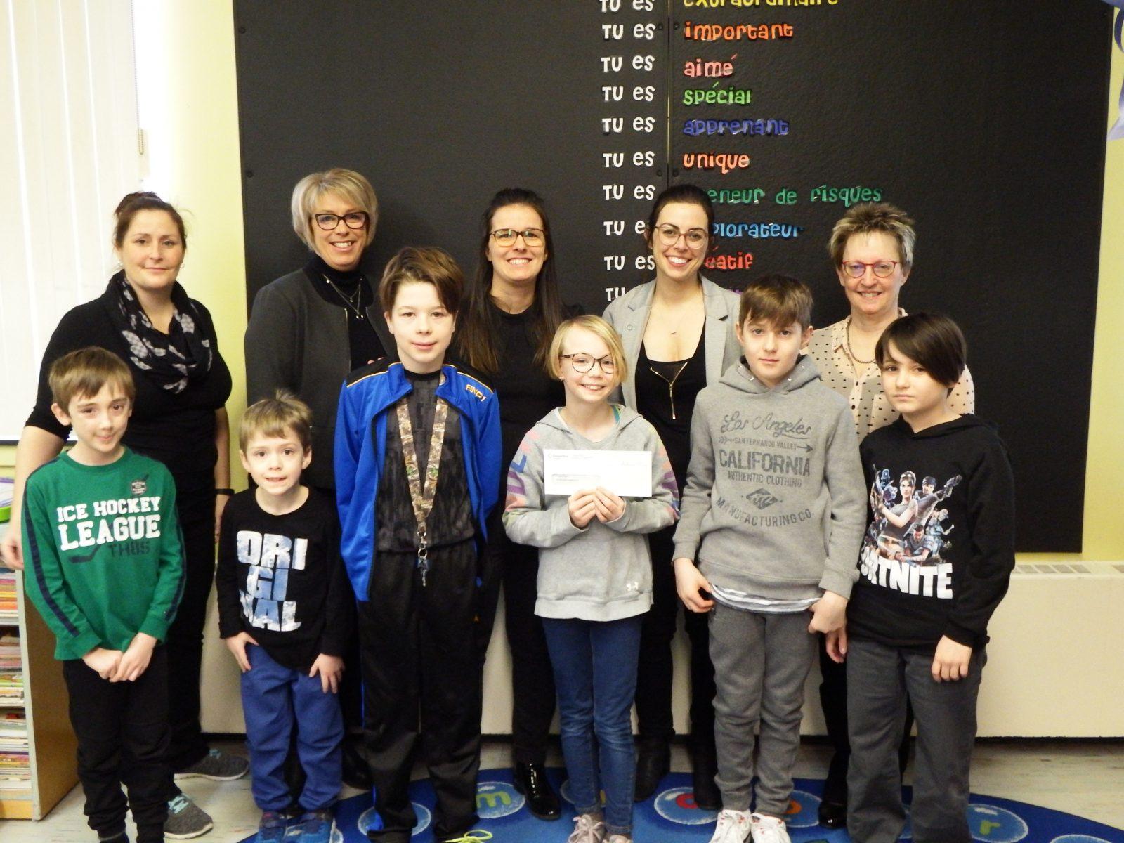 Prix #FondationDesjardins : quatre projets scolaires se partagent 7 300 $