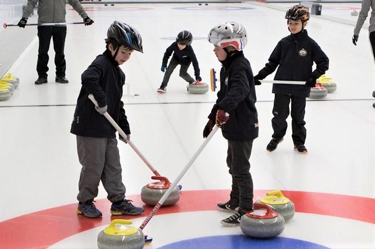 Une première au Québec au club de curling de Baie-Comeau