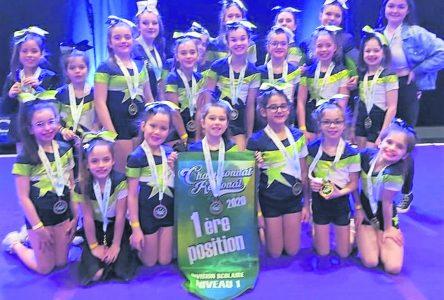 Championnat provincial de cheerleading : les trois équipes des Fan-As se qualifient