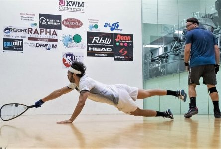 Circuit IRT de racquetball : Samuel Murray s'incline en quart de finale
