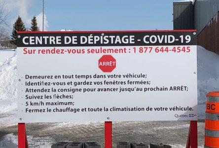 COVID-19 : 36 personnes testées à Sept-Îles et Baie-Comeau le 20 mars
