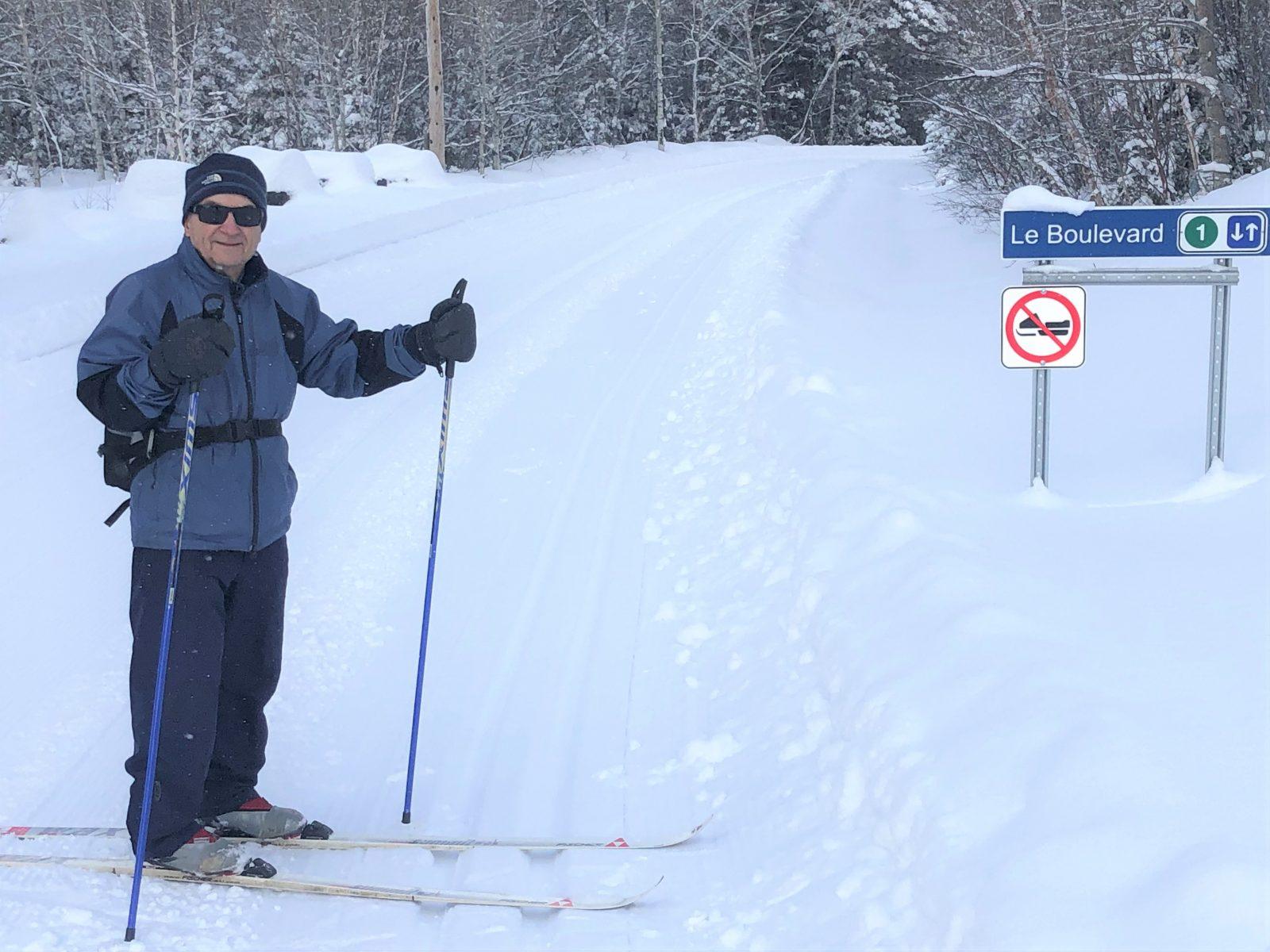 Conrad O'Leary, le grand patriarche du ski de fond