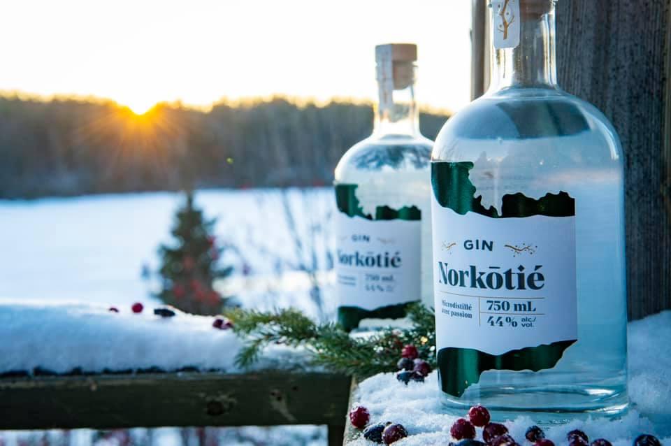Le gin Norkôtié rafle une double médaille d'or en Californie