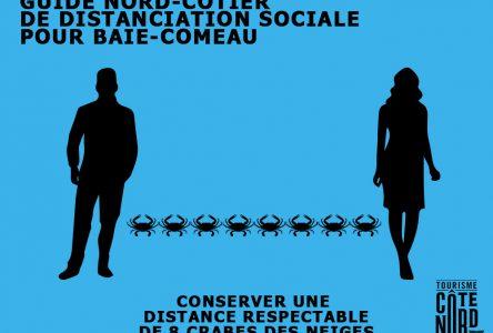 COVID-19 : Tourisme Côte-Nord présente un amusant guide sur la distanciation sociale