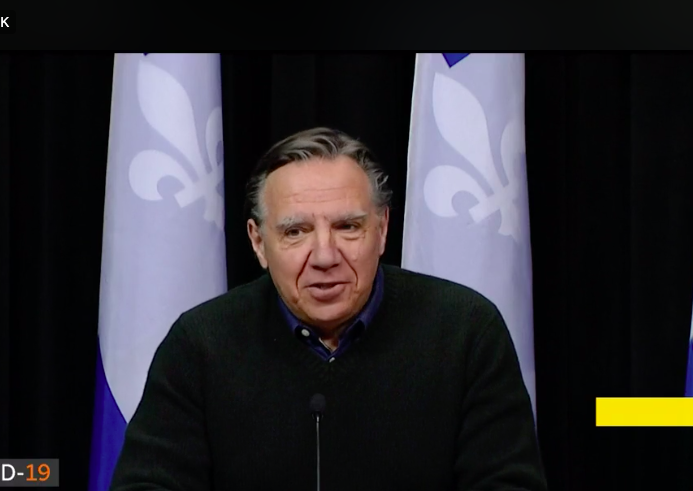 COVID-19: 75 décès et 6997 cas confirmés au Québec