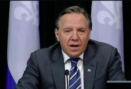 COVID-19 : « on a besoin que le Québec renaisse » – François Legault