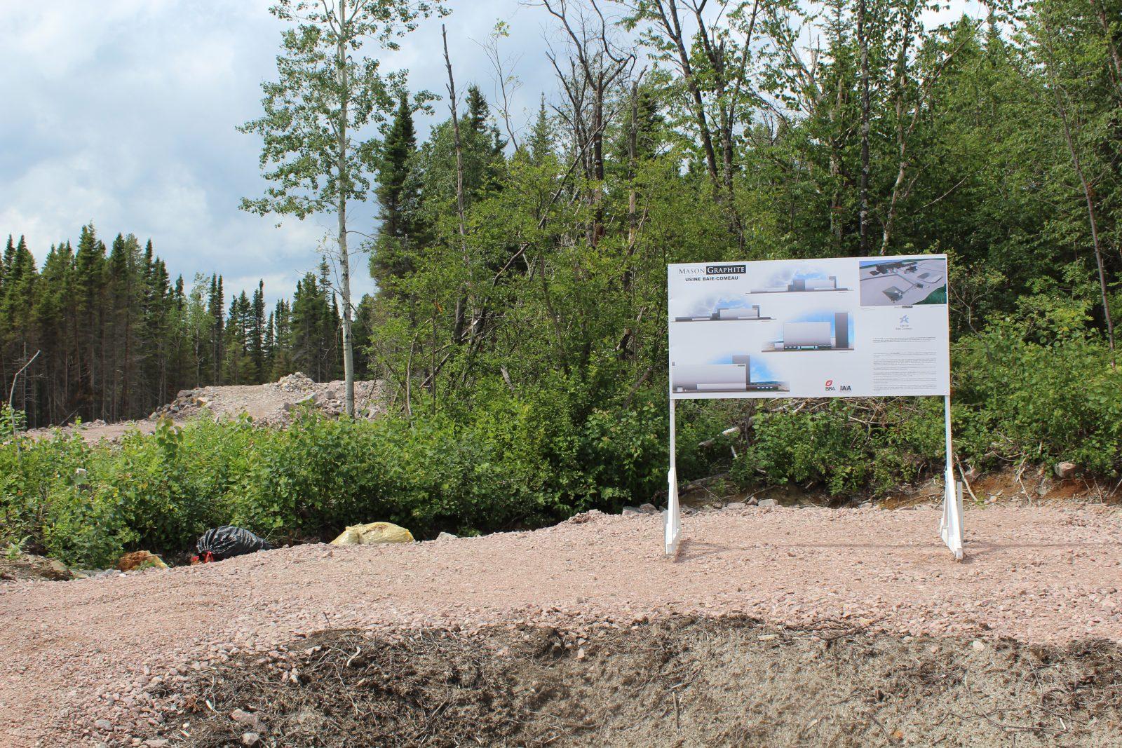 L'usine de Baie-Comeau reste une priorité pour Mason Graphite, assure l'entreprise