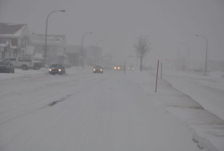 Quinze centimètres de neige attendus à Sept-Îles, autour de 5 à Baie-Comeau