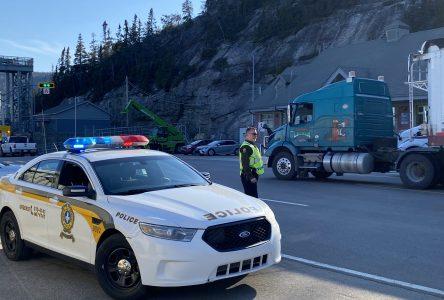 Québec confirme le retrait des points de contrôle sur la Côte-Nord