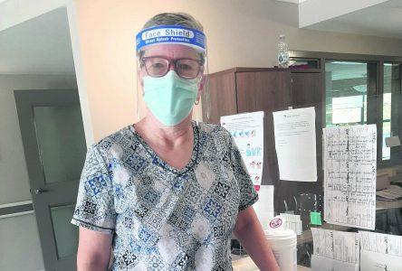 Trois semaines au cœur de la pandémie pour Maude Rail