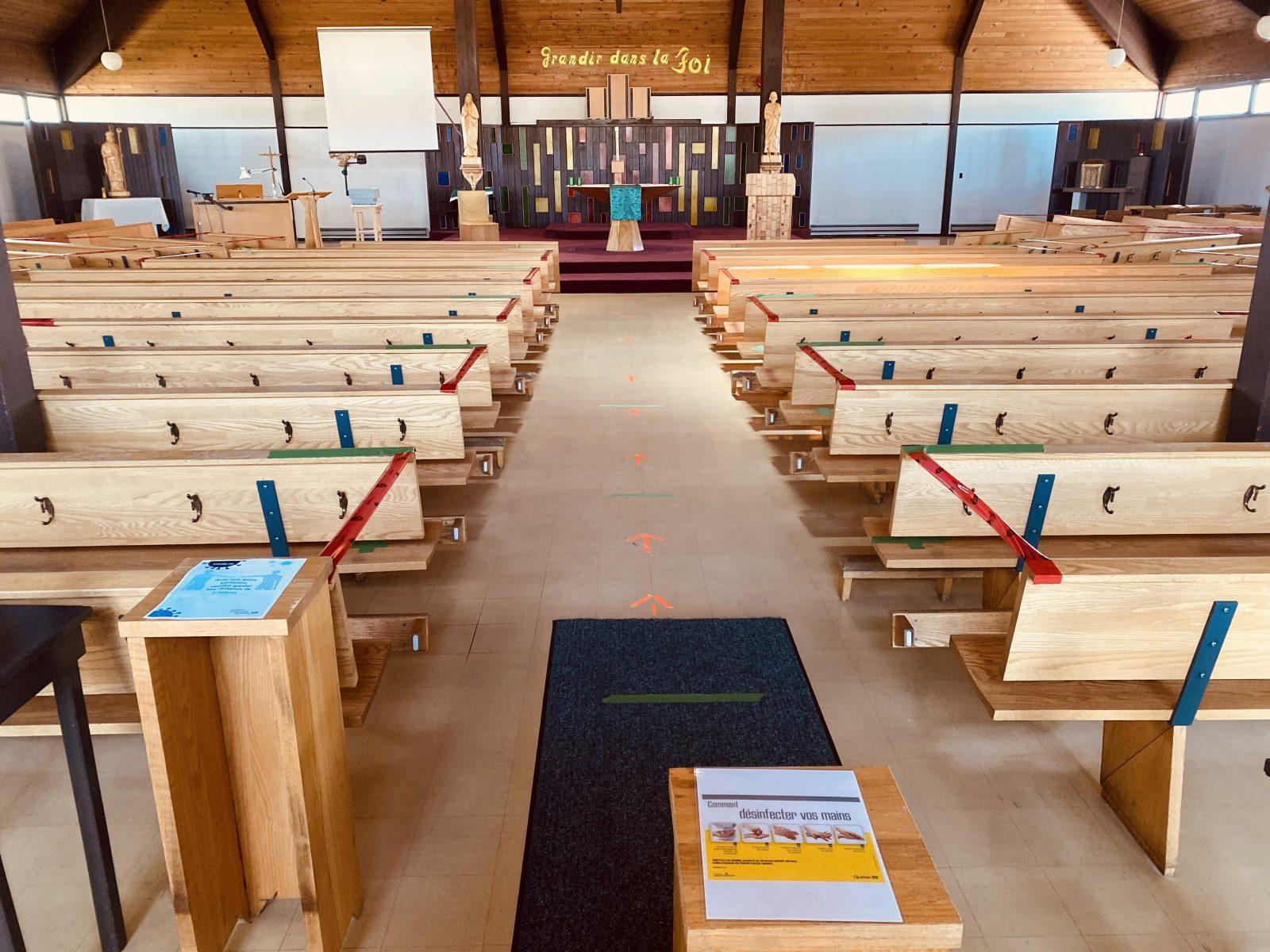 Les églises rouvrent au compte-gouttes