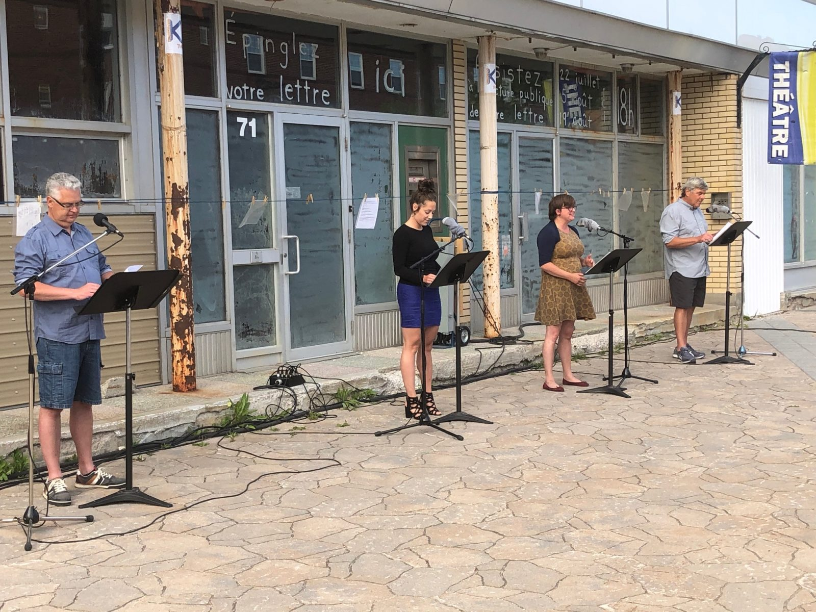 Espace K Théâtre sort la culture en plein air