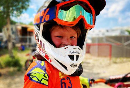 Motocross : le jeune Matt Lemieux se signale sur la scène provinciale