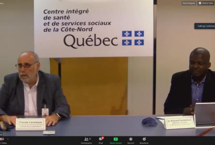 COVID-19 : le CISSS et la Santé publique de la Côte-Nord intensifieront leur stratégie de dépistage