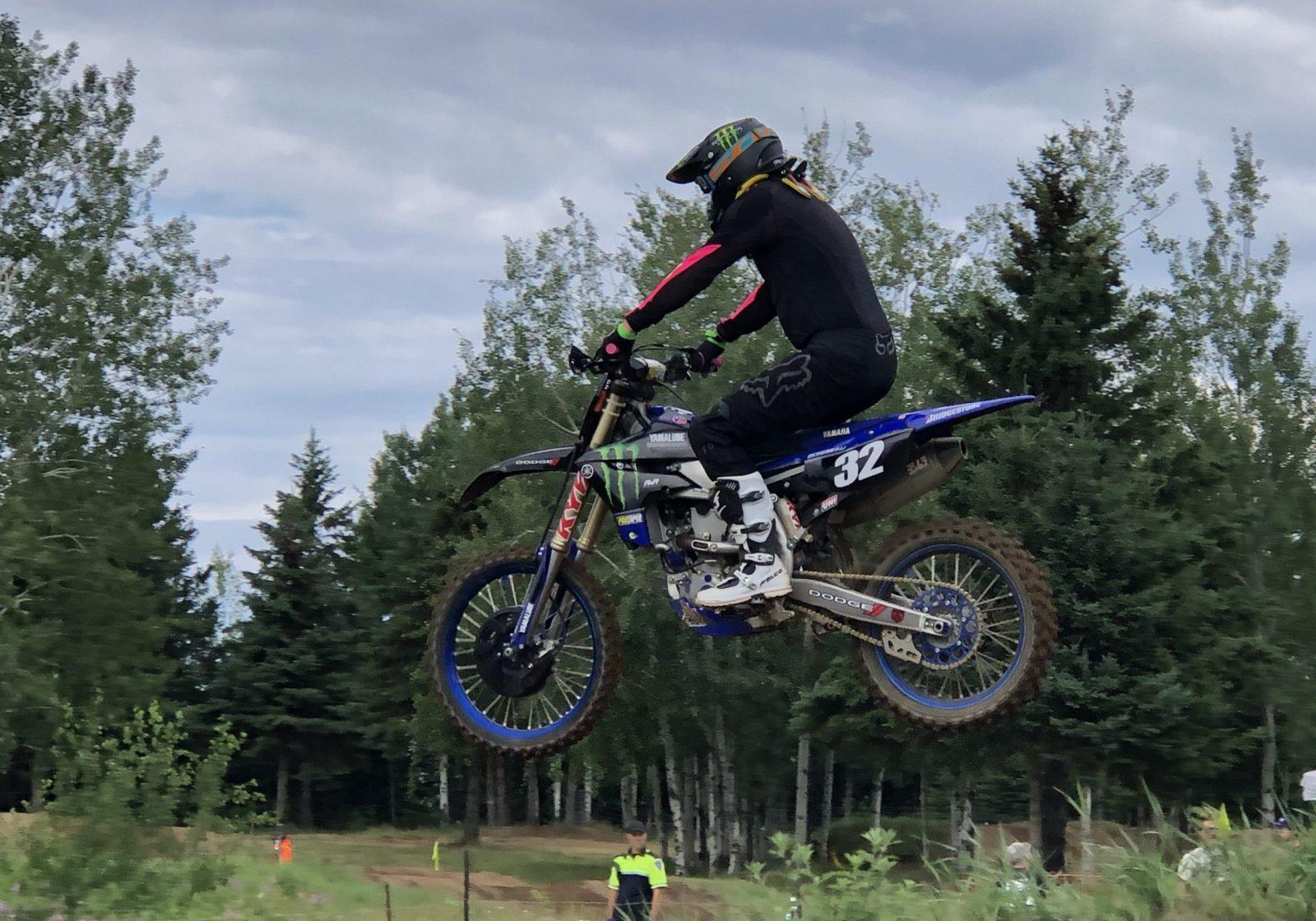 Motocross : le poids des années ne ralentit pas Stéphane Boisseau
