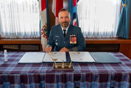 Un Forestvillois aux commandes de la base aérienne militaire de Winnipeg