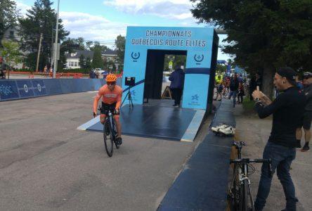Une deuxième place pour le Baie-Comois Éric Clément aux championnats québécois de cyclisme