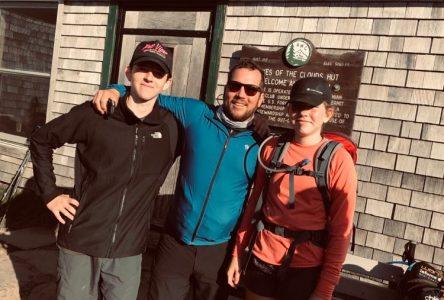 David Héroux carbure à l'escalade, la randonnée en montagne et l'alpinisme