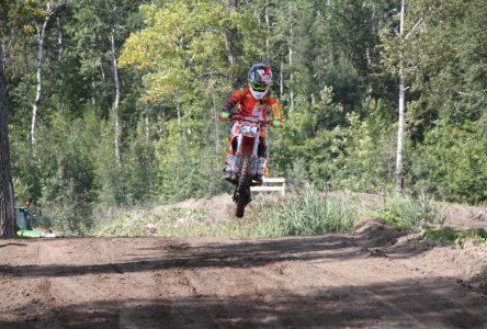 Motocross : Matt Lemieux complète sa saison en beauté