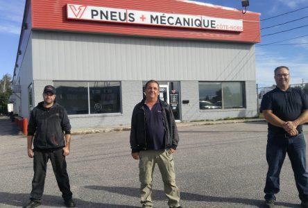 Pneus & mécanique Côte-Nord change de mains