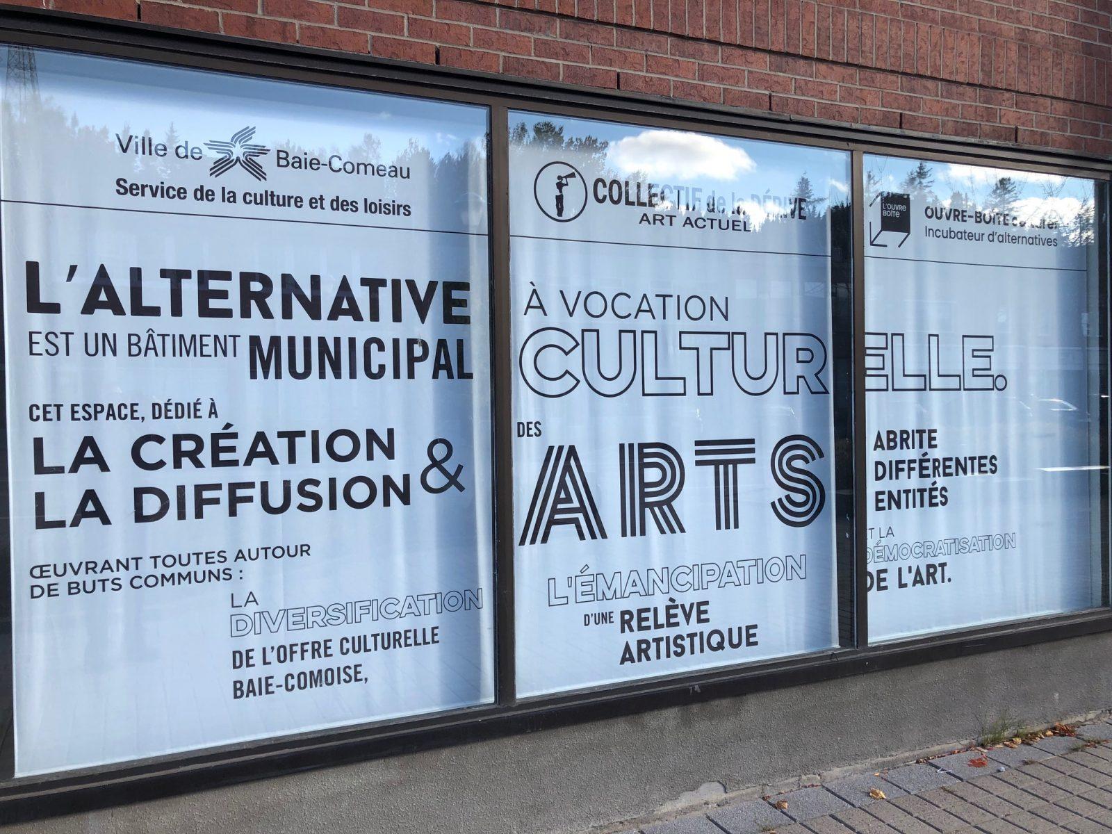L'Ouvre-boîte culturel met sa saison sur pause