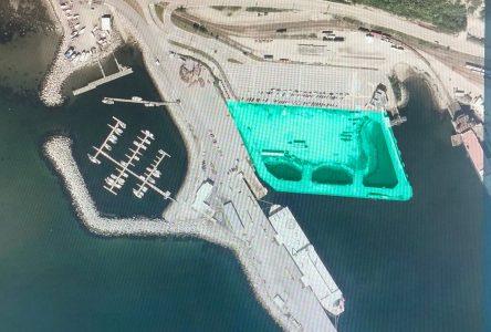 Le port de Baie-Comeau vient de gagner un nouveau terrain