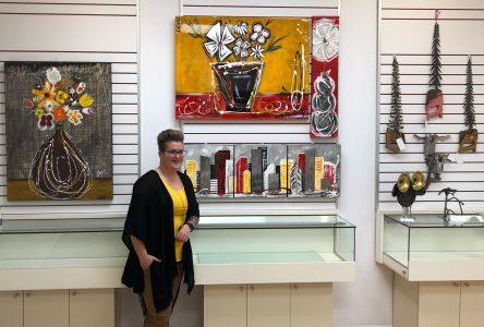 Les Créations FlorMétal s'installent aux Galeries Baie-Comeau
