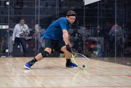 Samuel Murray dans la cour des grands du racquetball