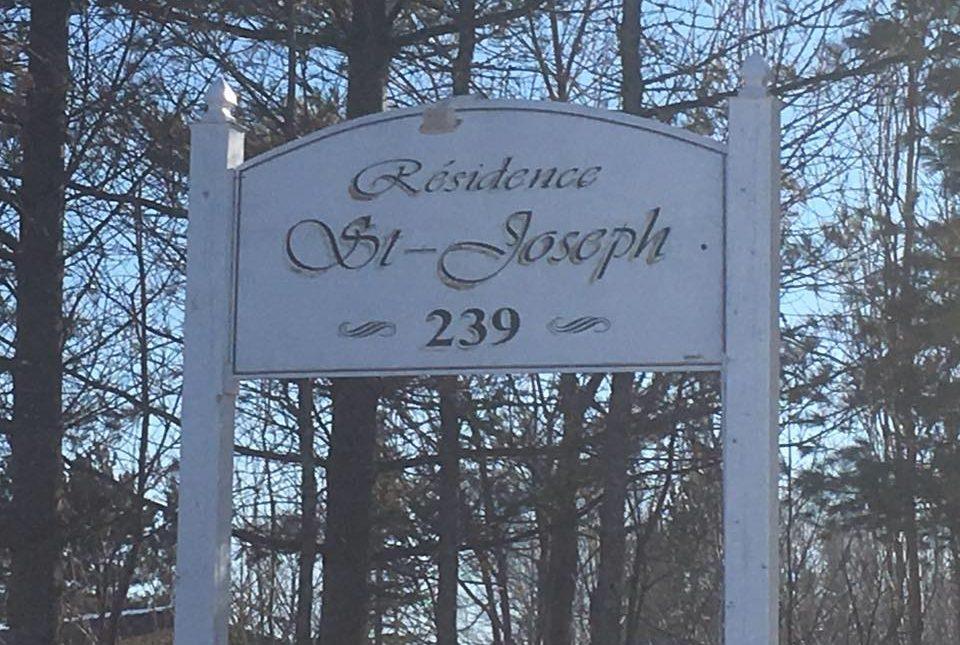 Faute d'argent, la Résidence St-Joseph se met sur pause