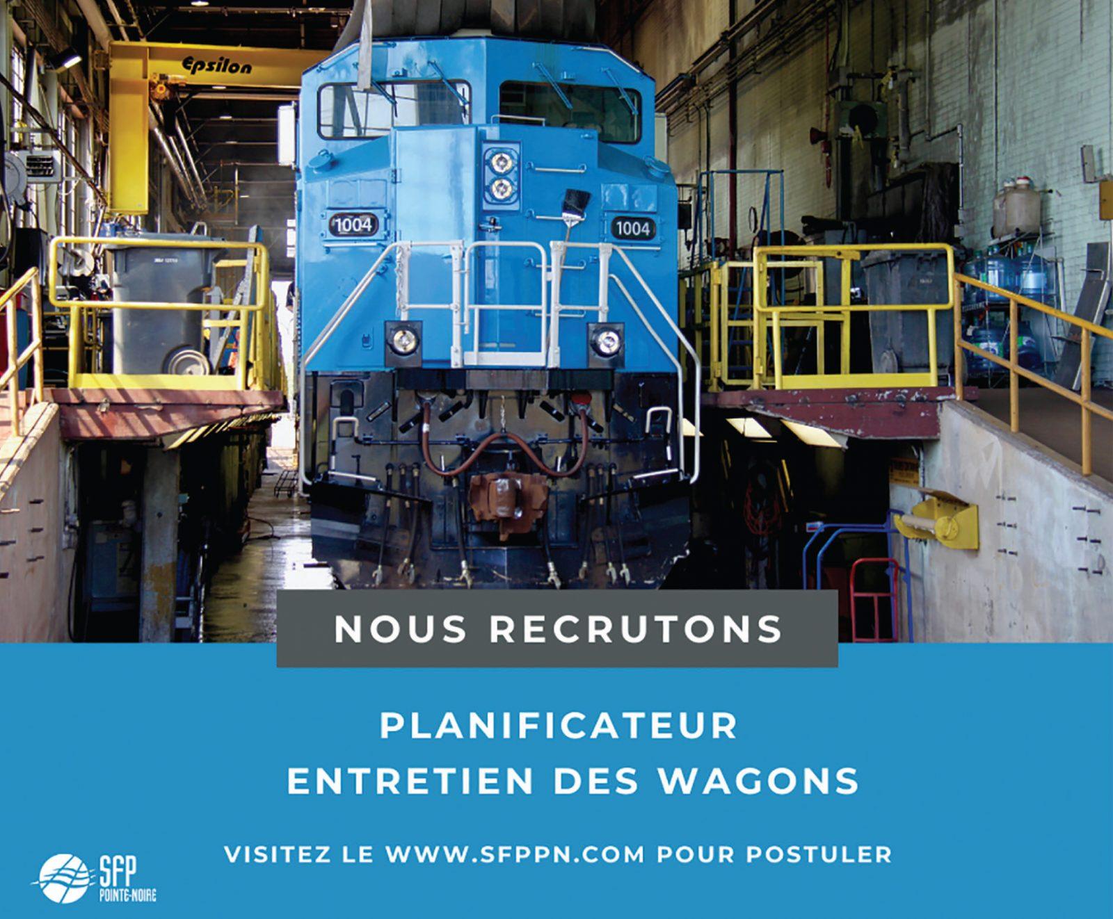 Logo de Planificateur – Entretien des wagons